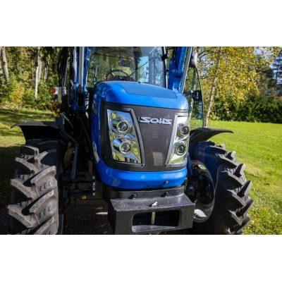 Solis 75 traktori etukuormaajalla