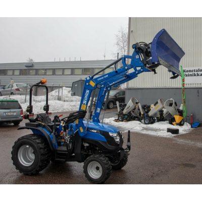 Solis 26 traktori+ etukuormaaja Euro kiinnikkeellä