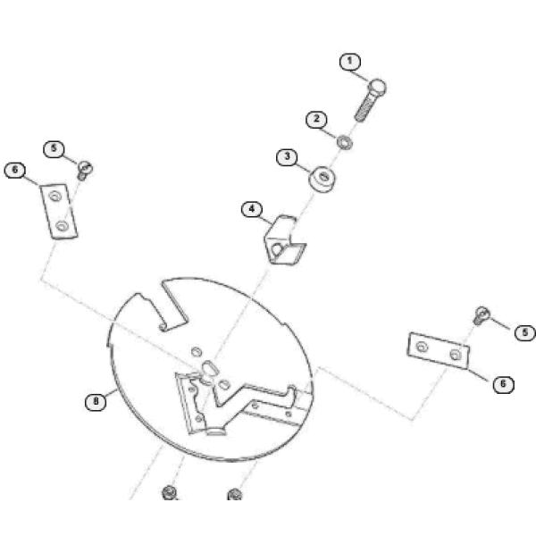 Viking/Stihl hakettimen kääntöterä