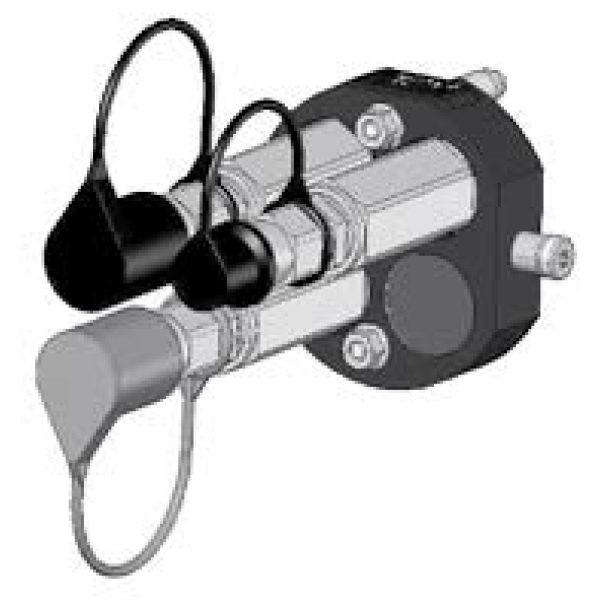 Hydrauliikan pikaliitinadapteri